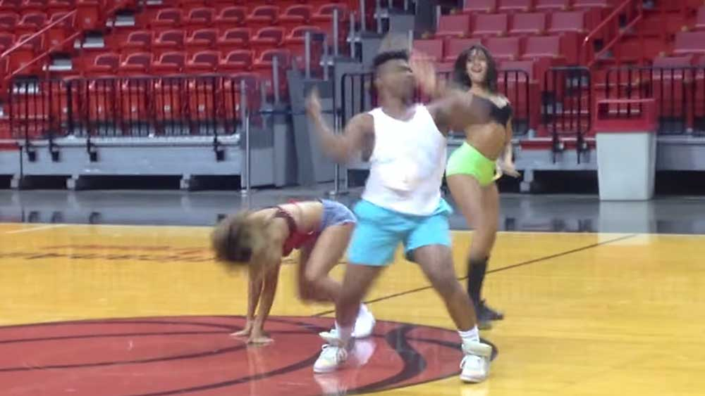 Guy Auditions for All-Girl Dance Squad